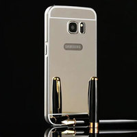 cheap price electroplating mirror metal cover for samsung s7 new model 2016 mobile phone case alibaba