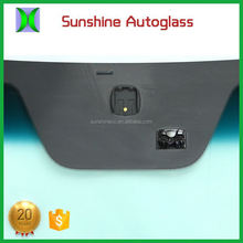 Newest designs professional car windshield glass
