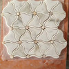 Flower Shape Marble Mosaic Tile