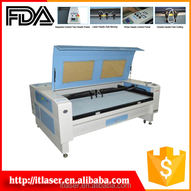 ITLaser laser cutting machine for balsa wood
