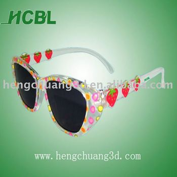 Fashion style 3d kids glasses home theatre 3d glasses