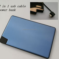 2500 MAh Li Polymer Power Bank