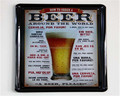 customized vintage beer metal banners plate poster plaque sign