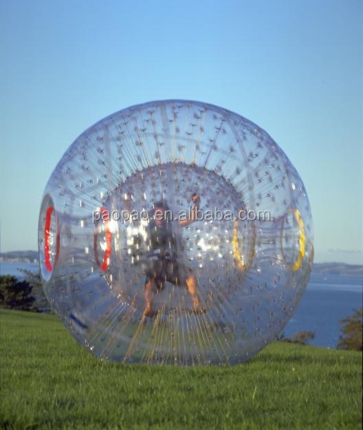 Giant Inflatable Zorb Ride Sale to New Zealand
