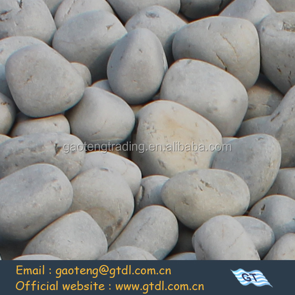 pebble stone men made craft from natural material in silica mine