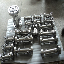DBB forge steel ball valve
