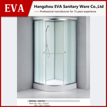 Wholesale sliding glass shower door for shower cabin and shower room