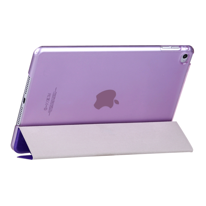 Wake/Sleep Function Leather Smart Ultra Slim Silk Case for Apple ipad Mini 1 2 3