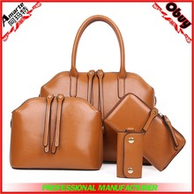 Top sale lady 4 pcs sets bags purse and handbags