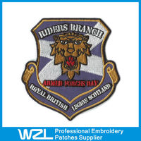 2015 wholesale cheap iron on embroidered patches