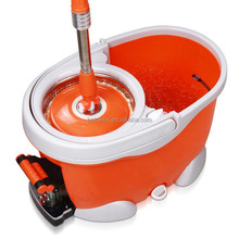 Bekahos Hand pressing spin mop factory floor cleaning magic mop with foot pendal