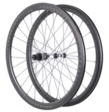 Miracle 18K Toray Carbon Fiber Road Bike Wheel 56mm Clincher Tubeless Rims 700C Road Carbon Wheels