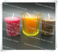 2015 votive candle in a display box