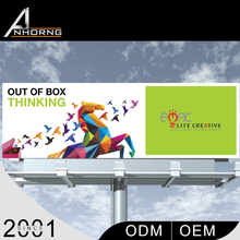 Excellent Quality Easy Installing High Brightness Outdoor Scrolling Advertising Light Box Factory Price Billboard