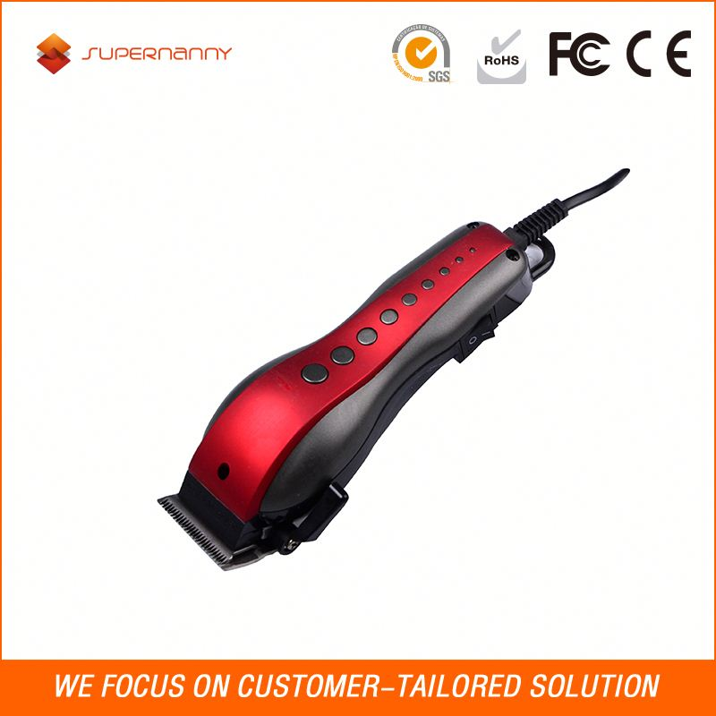 Very low price slim electrical professional salon ceramic trimmer goat hair clipper machine