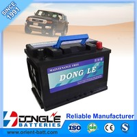 DONG LE factory sale with good price car battery wholesale