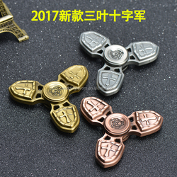 2017 Hot Sale 3 Leafe Cross Fidget Spinner Hand Spinner