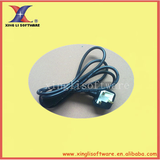 UK ac power cable, UK approval,Rating:10A 250V(XL-UK03)