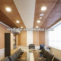 wooden wool acoustic panel for meeting room