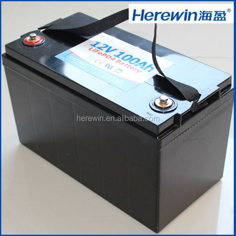 deep cycle rechargeable lithium ion 12volt 100ah great safe power 12v 100ah energy battery for car