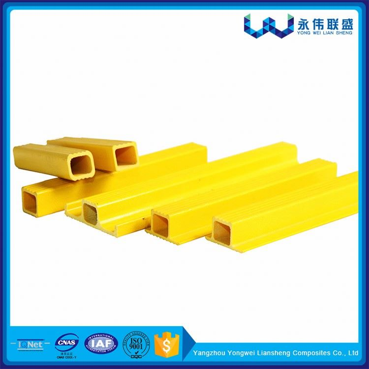 Durable Fiberglass Square Tube For Cross Arm