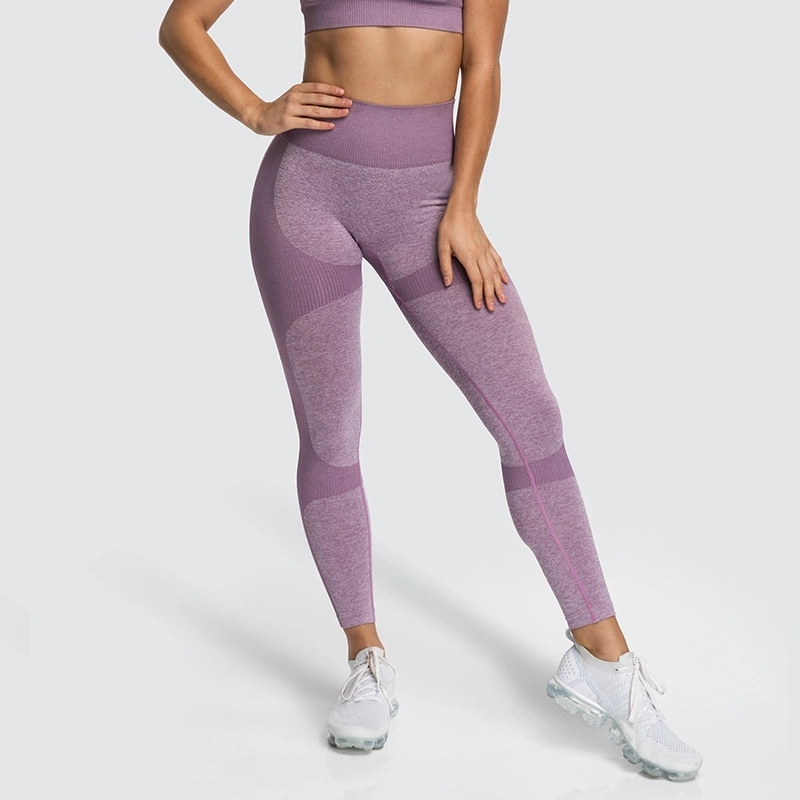 Frauen Nahtlose Leggins Kompression Sport Fitness Gym Leggins OEM