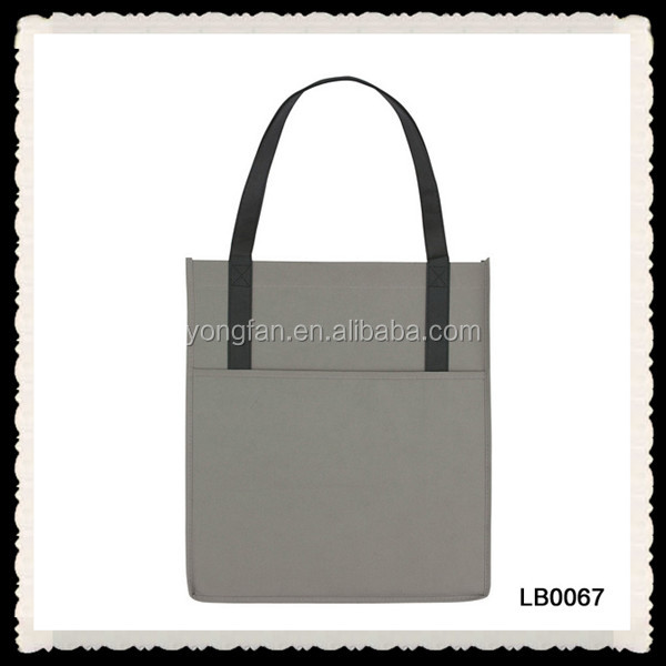 Colored Printed TNT Non-Woven Polypropylene Tote Bag