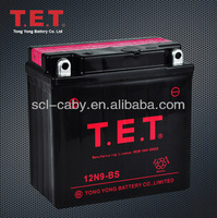 YTX9-BS Motorcycle Maintenance free Storage Battery