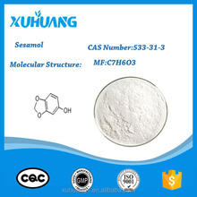 High Quality Sesamol 533-31-3 in stock fast delivery good supplier