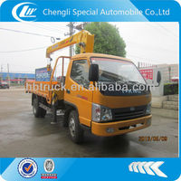 82hp T-King vehicle 2tons truck with crane