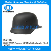 WWII WW2 German MOD M35 Luftwaffe Steel Soldier Helmet