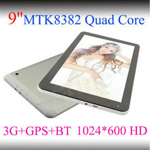 9 inch tablet pc smart pad as 3G phone tablet pc quad core shenzhen factory