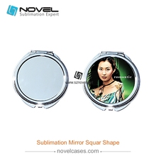 Wholesale High quality steel pocket mirror