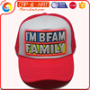 5 panels cheap promotional wholesale foam and mesh trucker cap with shine embroidery logo