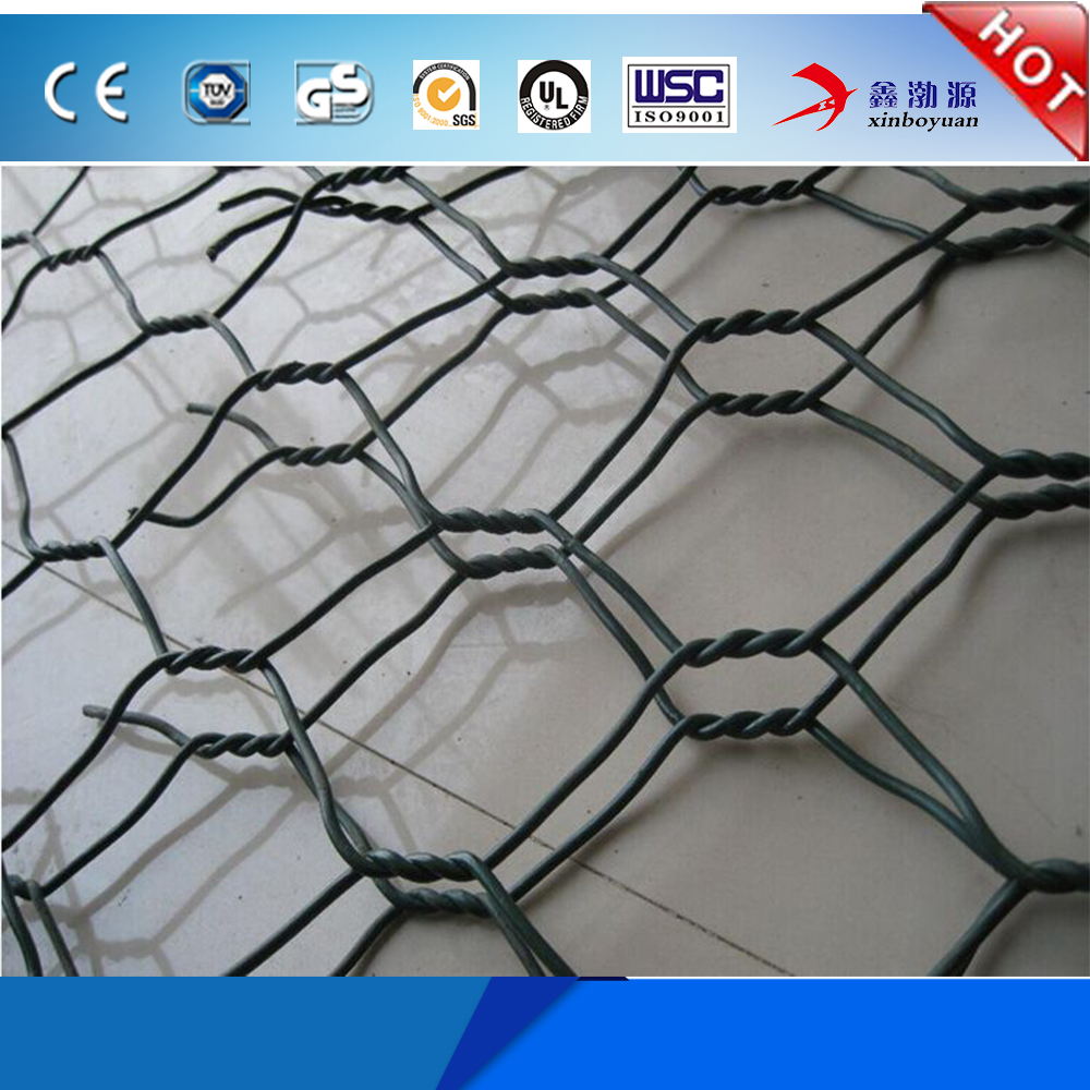 China supplier Galvanized PVC coated Welded/weave type Gabion Box / Cage Rock With lowest price(factory wholesale)