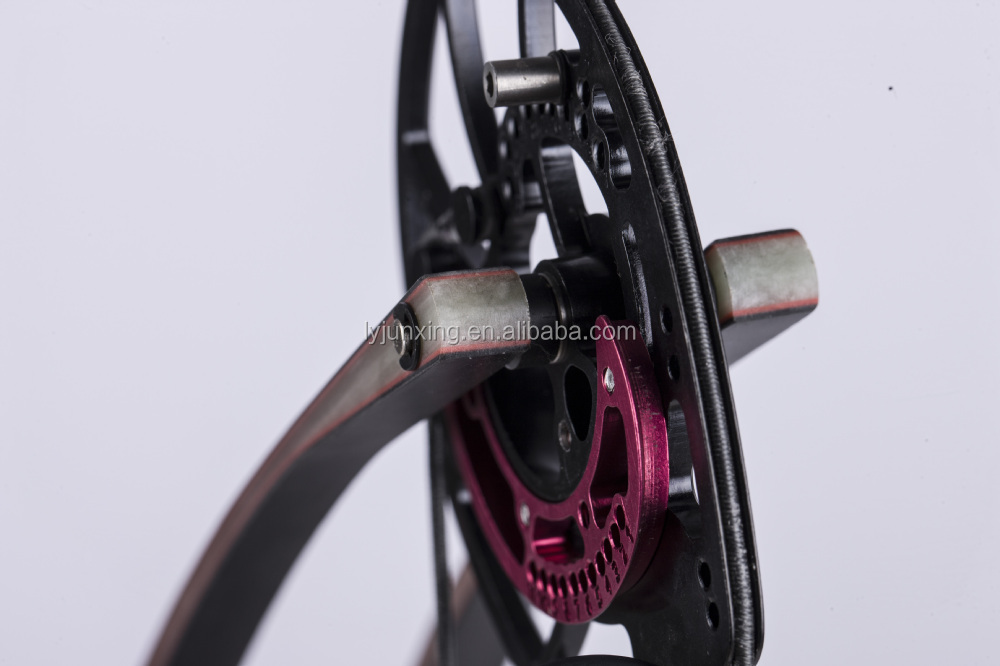 M109A hunting triangle bow All CNC Machined aluminum compound bow with fiberglass limbs china wholesale best price