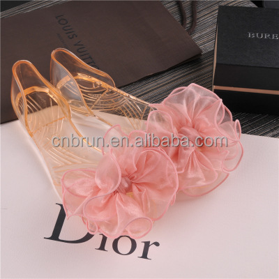 Ladies beatifual Jelly Sandals PVC Bow Sandal