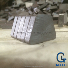 TRAPEZOID AND WEDGE SHAPE MAGNETS RARE EARTH COMPOSITE FERRITE MAGNETS