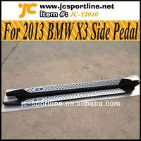 2013 X3 Side Steps Running Board,X3 Car Pedals For BMW X3