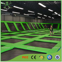 best play professional big indoor trampoline for children and adults