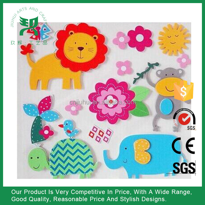 Promotional Room Decoration Kids EVA Wall Sticker