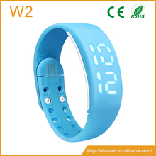 Promotional gift calorie counter wristband 3d pedometer w2 usb pedometer for TOYOTA