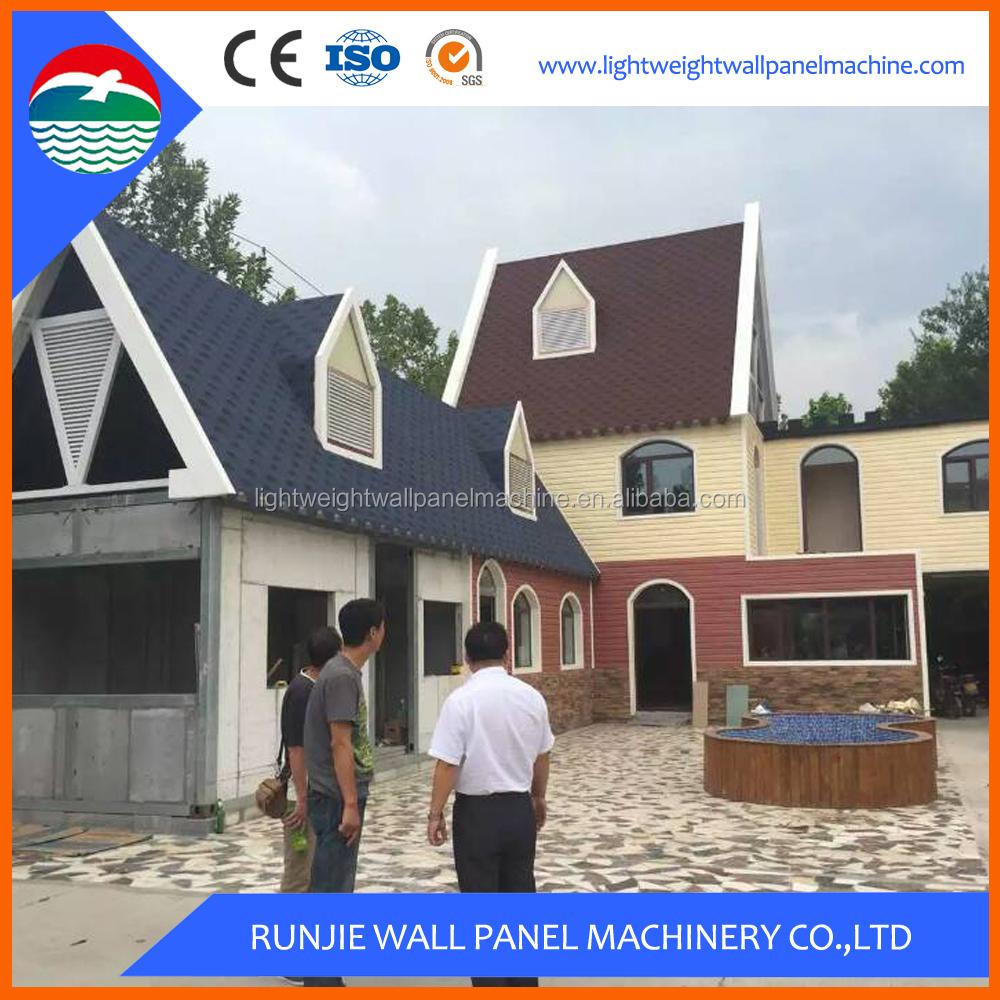 German Style Wooden Prefabricated Cement Prefab House