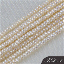 Bulk sale button freshwater cultured 2mm pearls