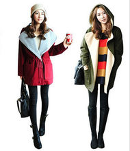 D15801A autumn and winter thicken women's coat