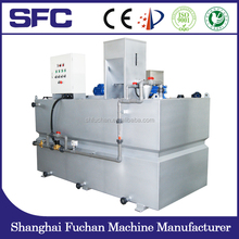 Wastewater treatment Plant Equipment / Polymer Dosing System For Chemial Sewage