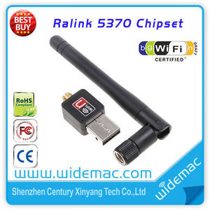 150Mbps WiFi Dongle with Ralink 5370 USB / Mini Ralink RT 5370 Wireless USB Adapter
