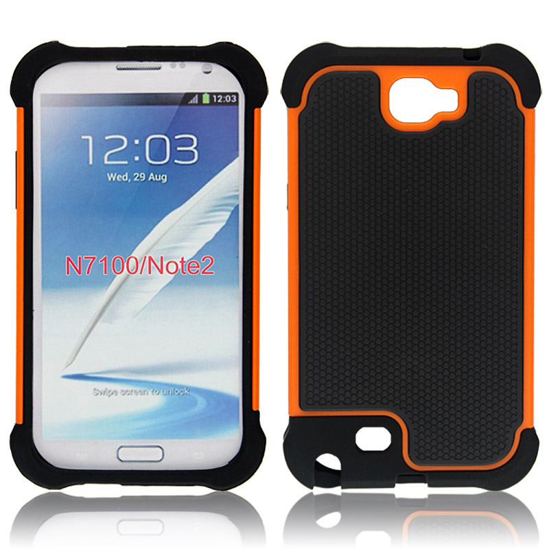 Triple Defender Case For Sumsung note2/N7100 With 11 Colors , Factory Price