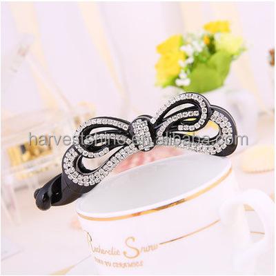 Women Bow Banana Hair Clip,Claw Clip Leopard Printed Hair Accessories