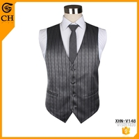 Fashion Simple Stripe Design polyester vest & waistcoat